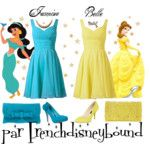 One dress, two disneybounds