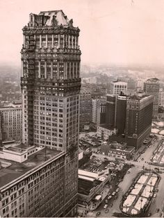 Book Tower - Old photos — Historic Detroit