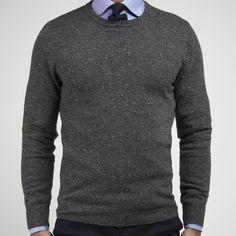 purchase cheap 266c6 18e11 Dark Grey Cashmere Sweater John Henric Byglar, Koftor