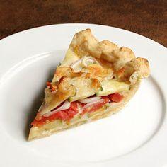A Savory Pie for Pie Day