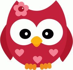 Silhouette Design Store - View Design valentine owl w flower Silhouette Design, Vintage Clip Art, Owl Clip Art, Owl Cartoon, Owl Always Love You, Owl Patterns, Printable Designs, Digi Stamps, Paper Piecing
