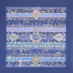 luxury-scarves.com 'Rives Fertiles', Christine Henry. 2005/06