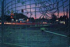 William Eggleston (Memphis, Tennessee, 1939 - ) Untitled (Gates) 1984 From the portfolio, William Eggleston's Graceland Dye transfer print . William Eggleston, Color Photography, Street Photography, Landscape Photography, Nature Photography, Contemporary Photography, Night Photography, Portrait Photography, Fashion Photography