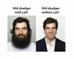 Real life of web developer