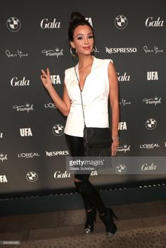 Verona Pooth during the Berlin Opening Night by GALA and UFA Fiction at hotel 'The Stue' on February 9, 2017 in Berlin, Germany.