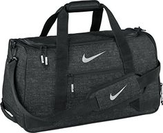 d09033b22666 Amazon.com  NIKE Sport III Golf Duffle Bag (Black Heather)  Sports    Outdoors