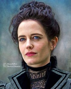 Vanessa Ives portrayed by Eva Green | Penny Dreadful by Hilary Heffron, Hilarious Delusions