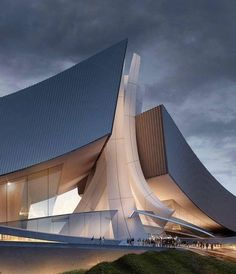 Tongyeong Concert Hall by Form4 Architecture in South Korea  built in 2009