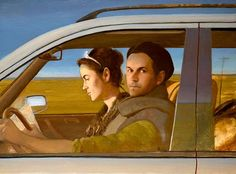 BO BARTLETT is one of my favorite. I saw his show at the Frye Museum when iI was in college. Bo Bartlett Looks At America's Heart And Carries His Take On Things To The Canvas. American Realism, American Artists, Bo Bartlett, Andrew Wyeth, Magic Realism, Portraits, Couple Art, Figure Painting, Figurative Art