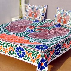 Sharrate provides premium range of luxury bedsheets where you get unique taste of collection for your bed rooms. Luxury Bed Sheets, Bed Sheets Online, Buy Bed, Bed Sheet Sets, Peacock, Decorative Boxes, Bedroom, Fabric, Stuff To Buy