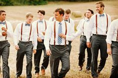 country groomsmen attire with leather suspenders butterfly- graham terhune photography Groomsmen Poses, Blue Groomsmen, Groomsmen Suspenders, Groomsmen Outfits, Bridesmaids And Groomsmen, Leather Suspenders, Groomsman Attire, Wedding Suspenders, Country Groomsmen Attire
