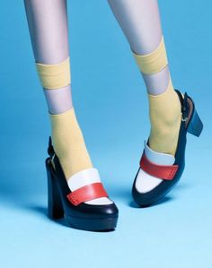 Mödernaked - Tessa Mustard Socks. // Exclusive Jewellery
