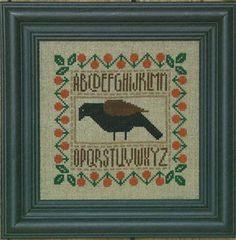 Crow Berry Sampler - Cross Stitch Pattern