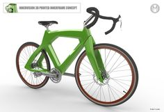 The 3D Printed Innervision Bicycle #3DPrinting