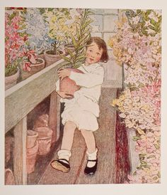 ''When Christmas Comes Around''. Illustrated by Jessie Wilcox Smith