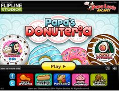Papa's Donuteria! You just got a sweet job at Papa Louie's donut shop in Powder Point😁😁😁 but can you handle all of these customers? 😍 Try and test your time management skill here! Tags: #papas #cooking #management #Friv