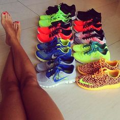 no such thing as to many shoes.  #fitness #fashion #fitspo