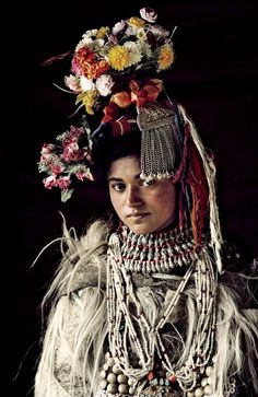 The Drokpa Tribe, which numbers around 2,500, live in three small villages in the Dha-Hanu valley of Ladakh