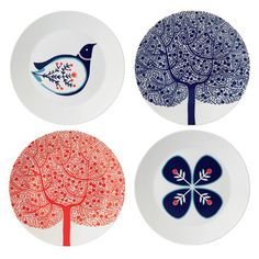 Royal Doulton - Fable Plates, love the scandinavian feel
