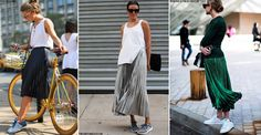 How To Make A Pleated Skirt Cool | sheerluxe.com