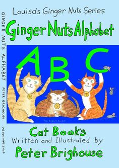 The Ginger Nuts Alphabet 8th children's cat story by Peter Brighouse in Books, Comics & Magazines, Children's & Young Adults, Fiction | eBay #onlinecraft cheap auction
