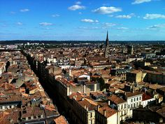 The French city of Bordeaux