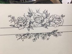 Left arm, addition to tattoos already there Forearm Flower Tattoo, Forearm Tattoos, Flower Tattoos, Body Art Tattoos, Small Tattoos, Sleeve Tattoos, Tattoo Sketches, Tattoo Drawings, Piercing Tattoo