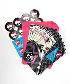 Take a look at this Monster High Party Invitation Set on zulily today!
