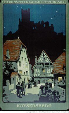 Kaysersberg / ALO, Chemins de fer d'Alsace et de Lorraine