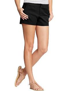 Old Navy Womens Stretch Twill Shorts