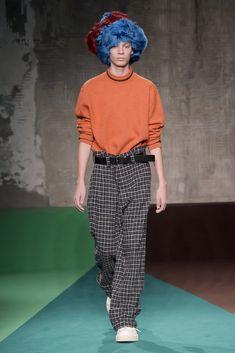 PHOTO BY GIOVANNI GIANNONI (c) Fairchild Fashion Media Marni Men's Fall 2017