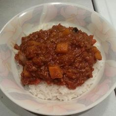 Ethiopian Yam dish.... again, sweet potatoes seem to have lots of yet untapped potential in my only-on-holidays past. :)