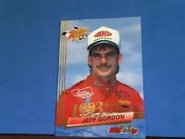 JEFF GORDON 1993 WHEELS  ROOKIE CARD ROOKIE CONTENDER ALL SLICES PAID