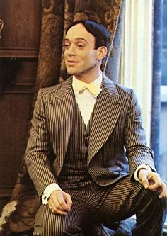 Nickolas Grace as Anthony Blanche in the 1981 adaptation of 'Brideshead Revisited'