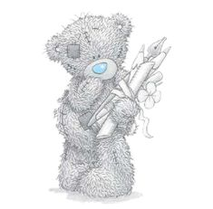 Tatty Teddy Bear Clip Art many more available!