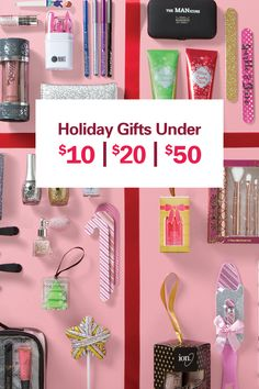 Pick a price, find a gift. Holiday shopping has legit never been easier.