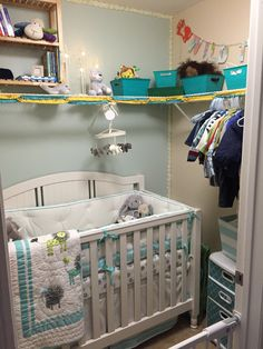Closet Turned Into A Nursery