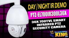 Day / Night IR Demo - PTZ-EL700IR300L36X - 36X 700TVL Smart Infrared PTZ...