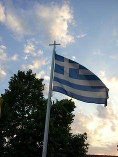 Efxinoupoli Flag, Country, Art, Art Background, Rural Area, Kunst, Flags, Country Music, Art Education