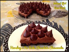 Hershey's No bake Chocolate Cheesecake