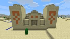 Pics For > Minecraft Pyramid House
