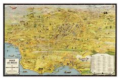 """Los Angeles """"The Wonder City of America"""" from 1932"""