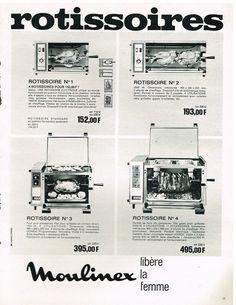 Publicité Advertising 1969 Les Rotissoires Moulinex | eBay