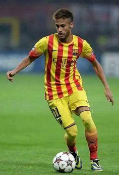 Neymar in actie