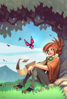 Reina by frogbillgo.deviantart.com on @deviantART