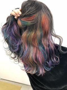 Hair Looks, Dyed Hair, Hair Inspiration, Cool Hairstyles, Hair Color, Dreadlocks, Long Hair Styles, Clothes, Beauty