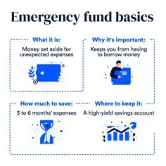 """Bankrate on Instagram: """"Do you have an emergency fund? If not, now is a great time to start one because, let's face it — emergencies are always unexpected, so the…"""" High Yield Savings Account, Savings Accounts, Borrow Money, The Borrowers, Accounting, Let It Be, Face, Instagram, The Face"""
