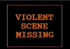 #text #vintage #lofi #lowresolution #lowrez #intertitle #screengrab #screencap #video #phrase #expression #type #typography #ViolentSceneMissing #VHS