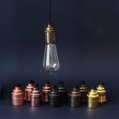 e27 vintage bulb holder threaded by dowsing & reynolds | notonthehighstreet.com