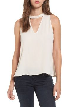 Free shipping and returns on Lush Choker Swing Tank at Nordstrom.com. Tap into current fashion trends with this swingy tank designed with a high, choker-style collar that boldly frames the face. Keep it casual with cutoffs, or style with skinnies for a night out.